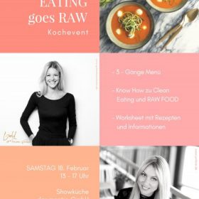 18.02.2017 – Clean Eating goes Raw