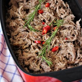 Clean Eating-Pulled Pork